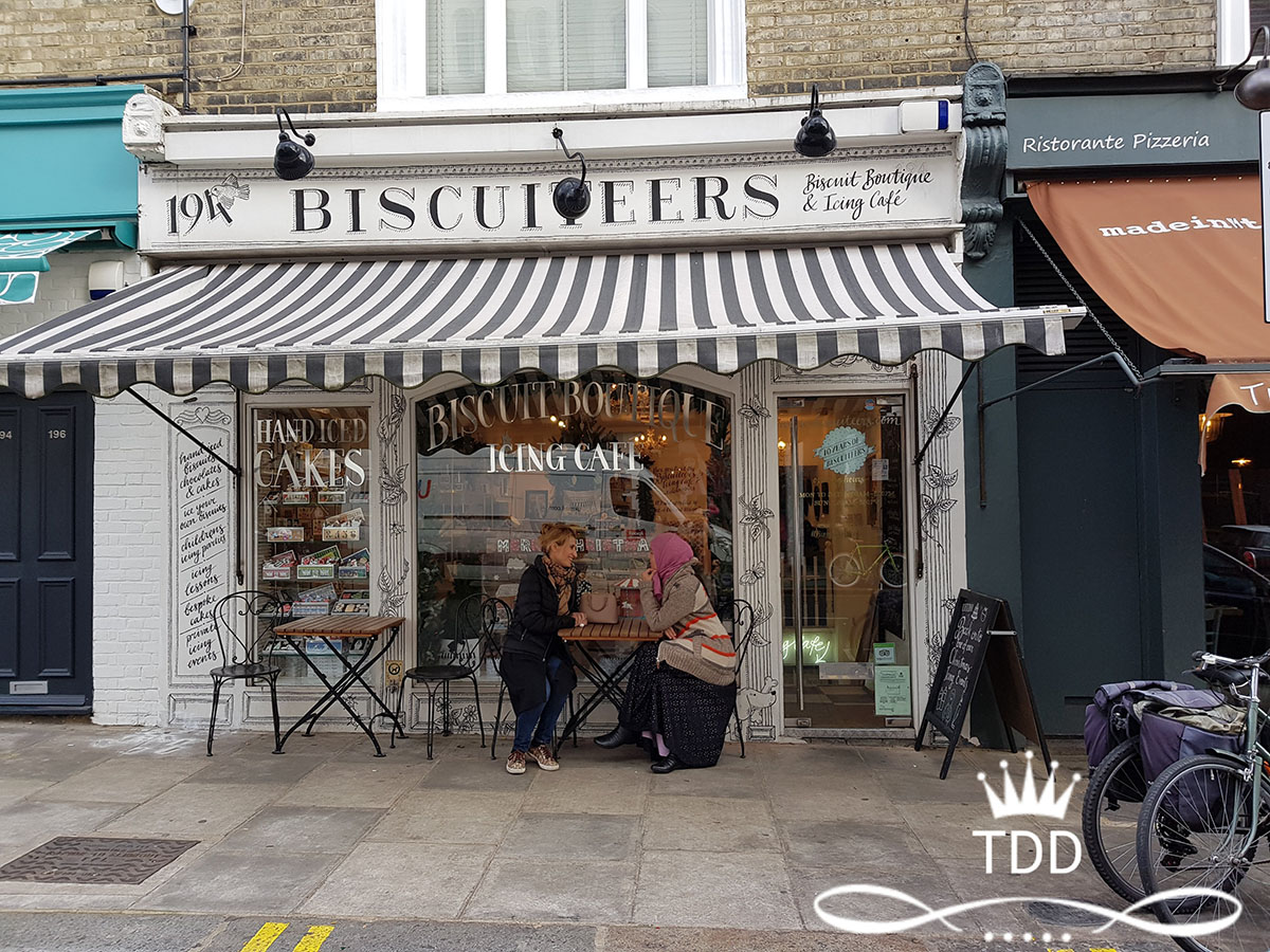Bicuiteers Notting Hill London