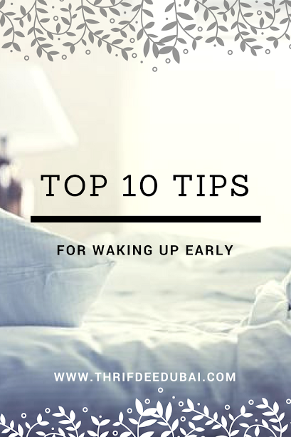 10 Things You Need To Do Before 9AM