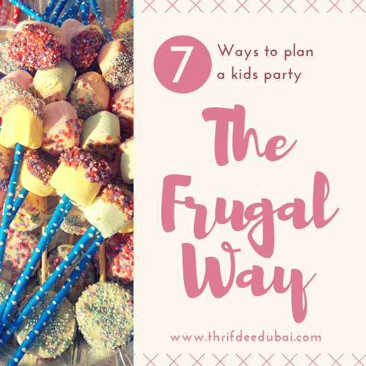 7 Ways To Plan A Kids Party The Frugal Way