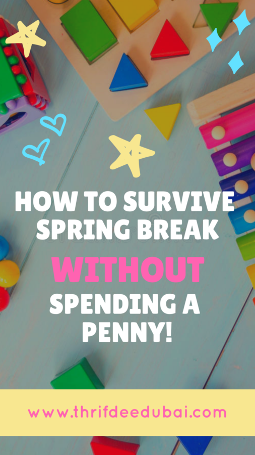 No Spend Half Term? Holiday Survival