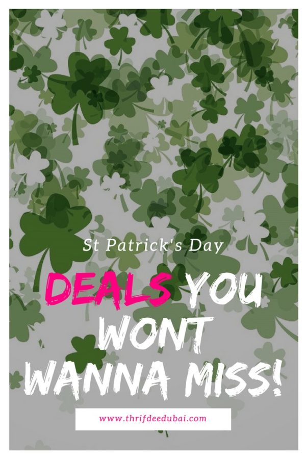 Thrifty Ways To Spend Paddy's Day