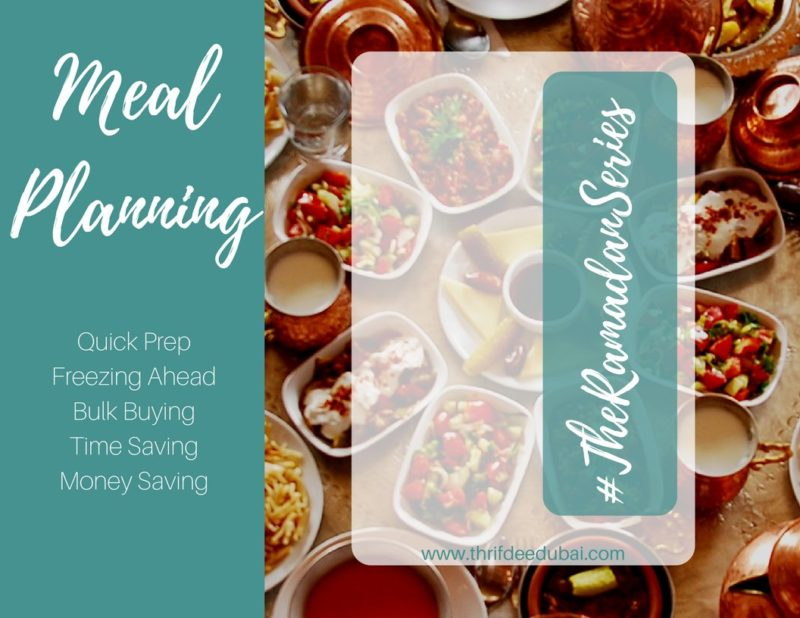Meal Planning – The Ramadan Series