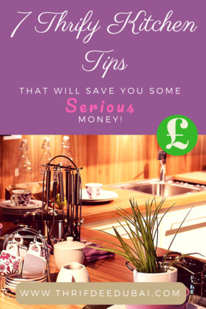 7 Thrifty Kitchen Tips That Will Save You Some Serious Money!