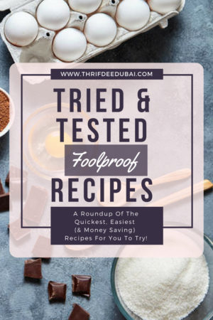 Loving This Week – Tried & Tested Recipes!