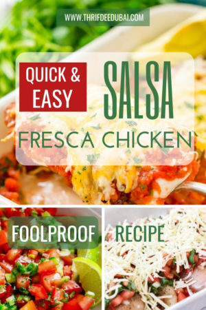 Quick Salsa Fresca Chicken