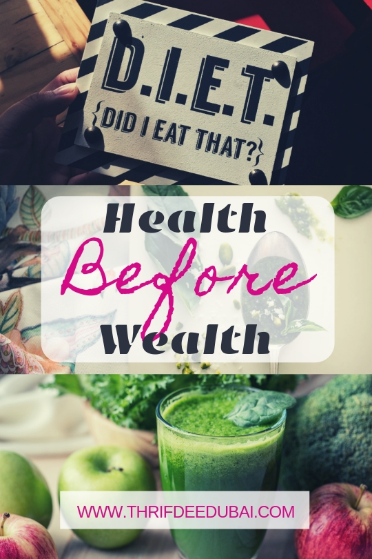 Health Before Wealth – How True!