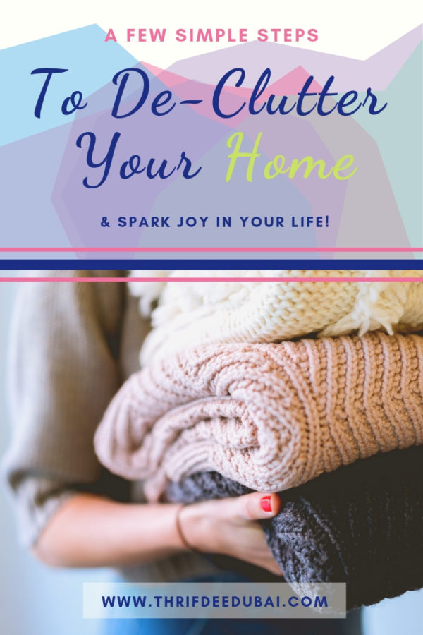 Tips for De-cluttering Your Home That Will Spark Joy In Your Life