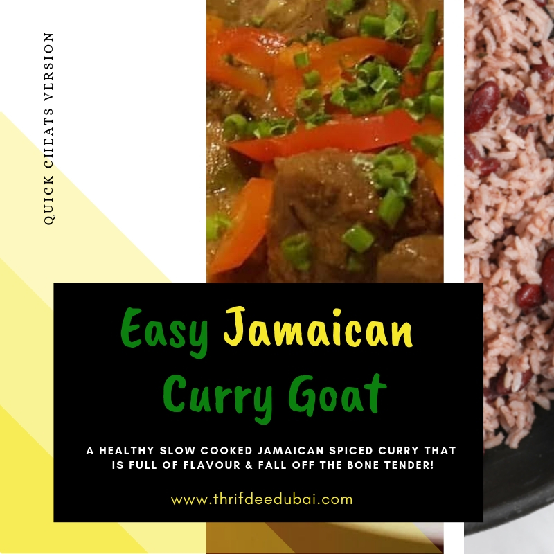 Easy Jamaican Curry Goat