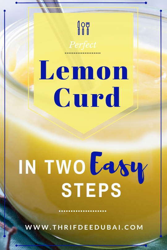 2 Way Easy Lemon Curd Recipe