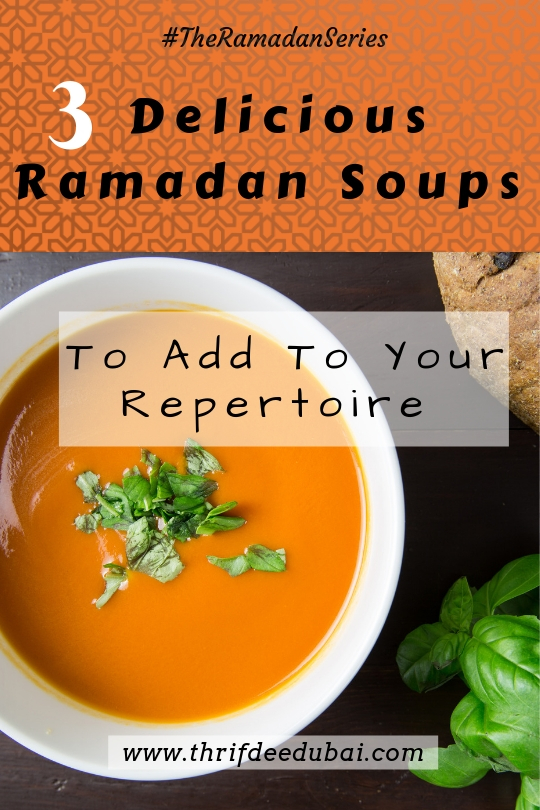 Soup Debate – The Ramadan Series
