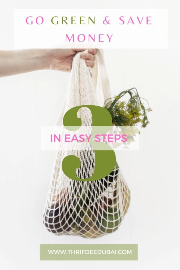 Go Green & Save Money In 3 Easy Steps