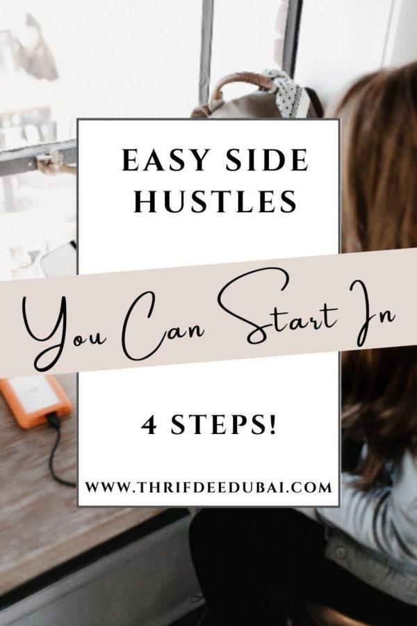 Easy Side Hustles You Can Start in 4 Steps!