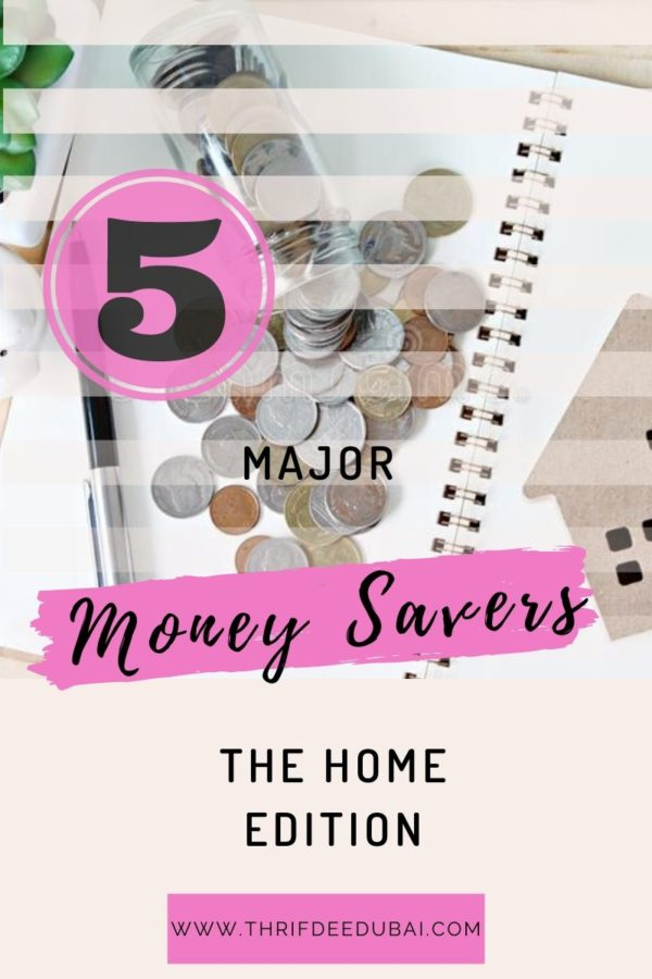 5 Major Money Savers – The Home Edition
