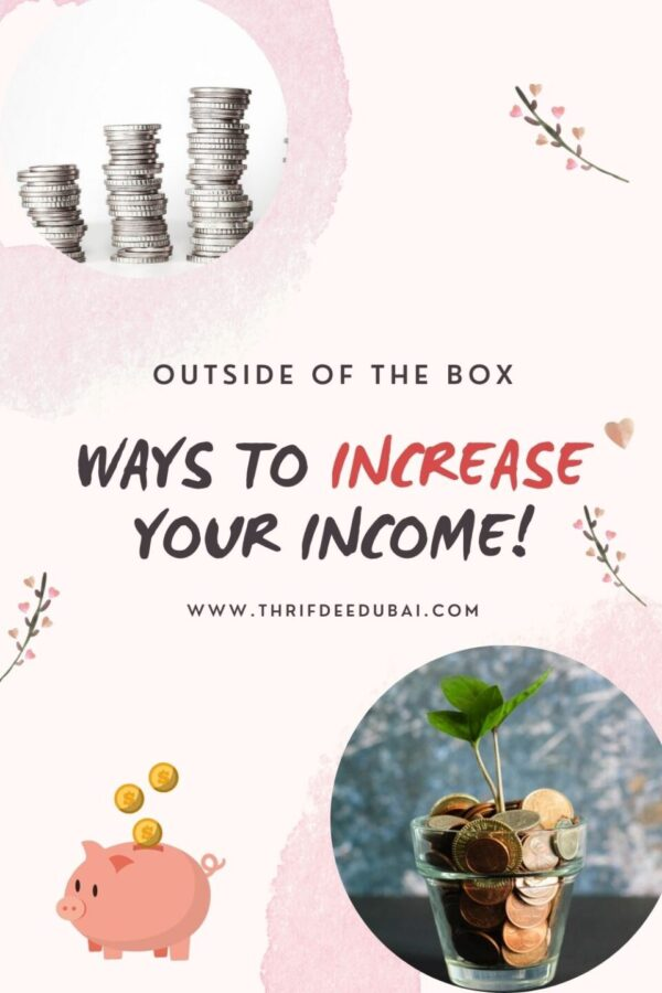 Outside Of The Box Ways to Increase Your Income